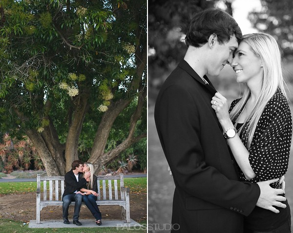 Los Angeles Arboretum Engagement Session | Megan & Tyler