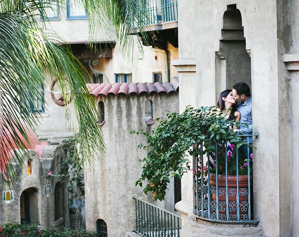 Mission Inn Engagement Session | Marianne & Michael