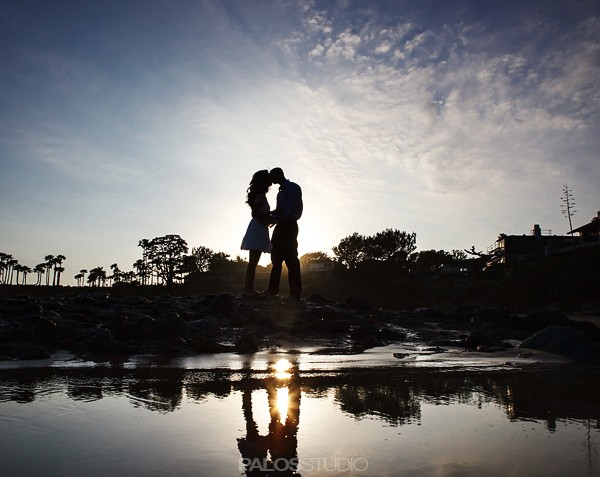 Laguna Beach Engagement Session Christine & Faisal