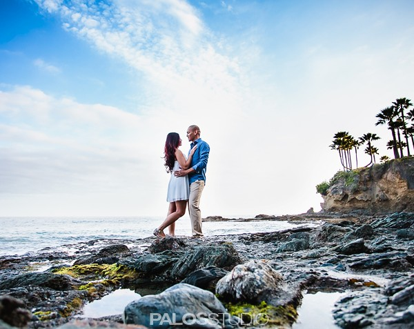 Laguna Beach Engagement Session | Madalaine & Jhenessey