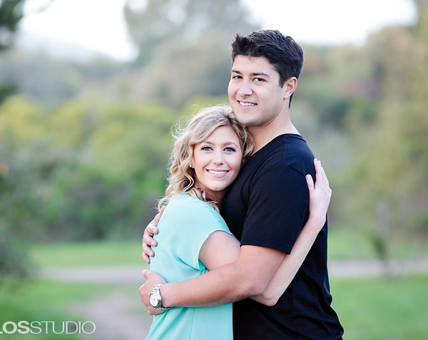 Santa Barbara Courthouse Engagement Session | Katelyn & Alek