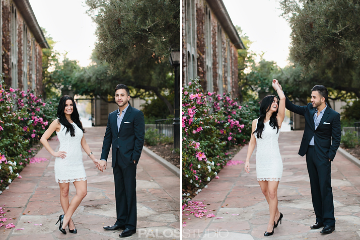 Claremont Colleges Engagement Session | Nicolette & Aly