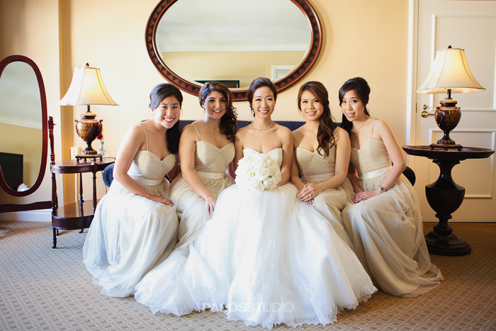 Claremont country club wedding