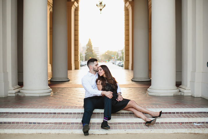 15 pasadena engagement session